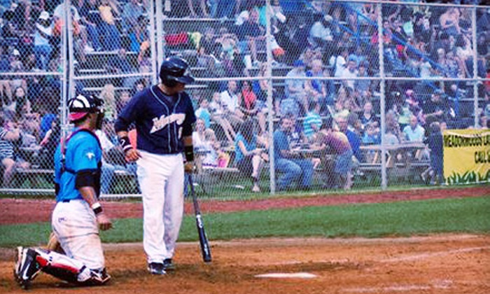 Martinsville Mustangs - Martinsville: Martinsville Mustangs Baseball Game for Two or Four at Hooker Field (Half Off)