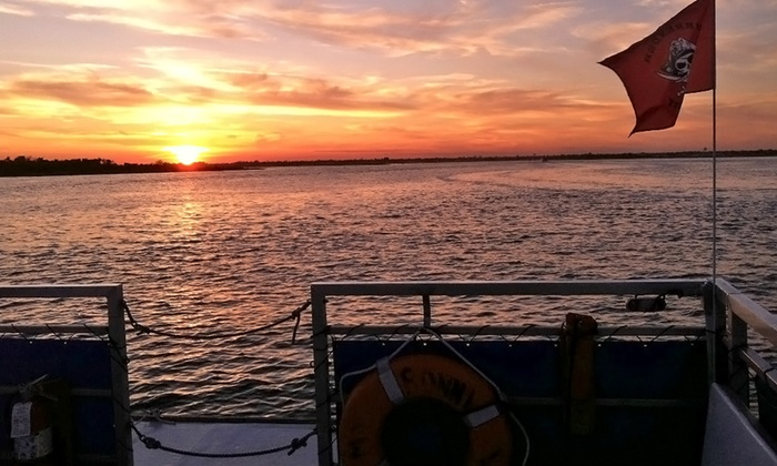 Freeport Water Taxi & Tours - Freeport: Sunset, Happy-Hour, or Party Cruise for Two or Four from Freeport Water Taxi & Tours (Up to 51%Off). 8 Options.