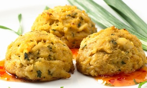 Capitol Hill Crab Cakes: Ocean-Fresh Seafood for Two or Four at Capitol Hill Crab Cakes (40% Off)