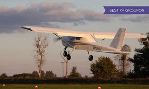 Ultrasky Jarosław Cieluch: Wstępne szkolenie na pilota z lotem zapoznawczym od 129,99 zł w UltraSky (do -54%)
