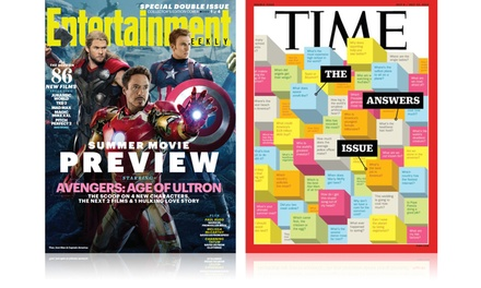 1-Year, 52-Issue Subscription to Entertainment Weekly or Time