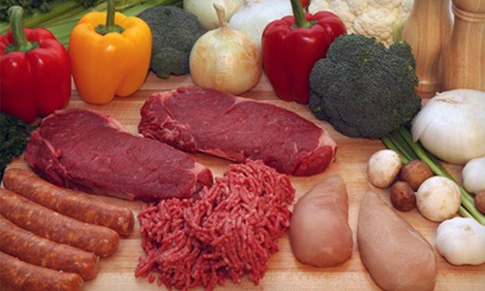Onterra Farms - Multiple Locations: $19 for a Box of Premium Farm Meats at Onterra Farms ($43.96 Value)