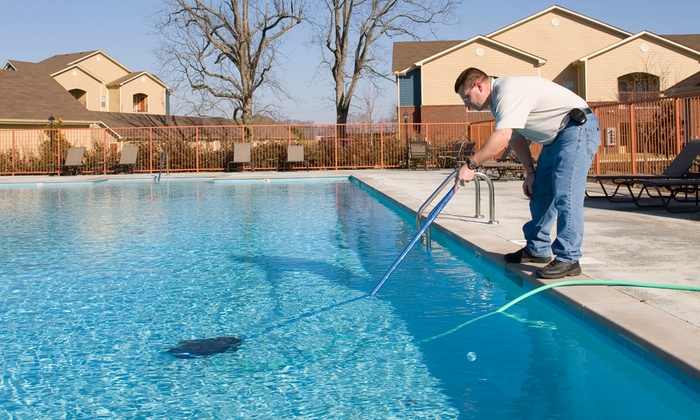 South Bay Pool Services - Los Angeles: $38 for One Month of Pool Cleaning Services from South Bay Pool Services ($95 value)