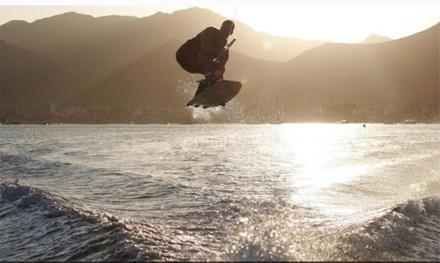 20 minutos de wakeboard para 1 o 2 en temporada baja o alta en Gijón (hasta 61% de descuento)