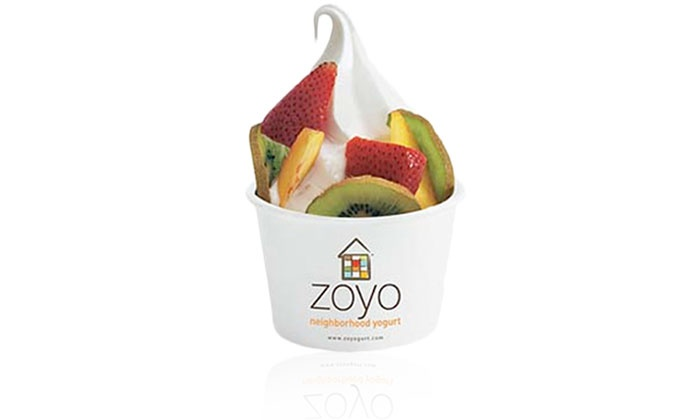 Zoyo Frozen Yogurt - Multiple Locations: $12.50 for Five Groupons, Each Good for $4 Worth of Frozen Yogurt at Zoyo Neighborhood Yogurt ($20 Value)