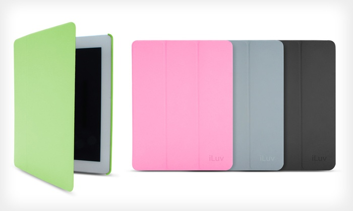 $7.99 for an iLuv Epicarp Slim Folio Cover for iPad. Multiple Colors Available. Free Returns