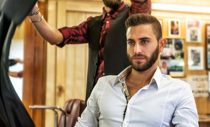 image for Men's Haircut With or Without Shave at Victory Career College (Up to 44% Off)