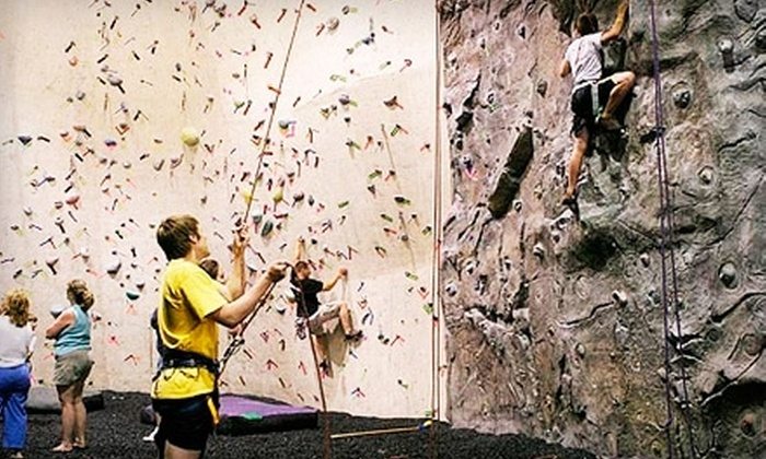 Kendall Cliffs - Boston: $55 for Introduction Class and Five-Climb Pass, Plus Equipment, at Kendall Cliffs in Peninsula ($155 Value)