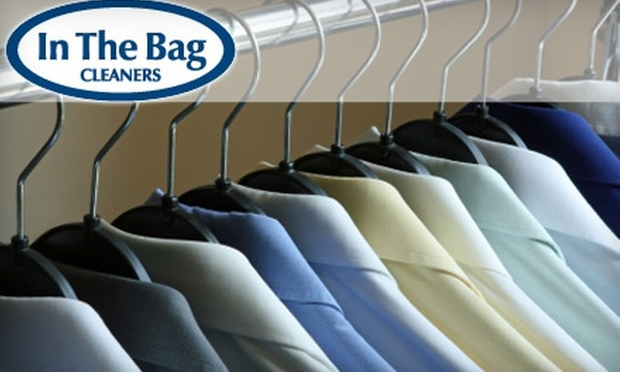 In the Bag Dry Cleaners - Multiple Locations: $15 for $40 Worth of Dry-Cleaning Services from In the Bag Dry Cleaners