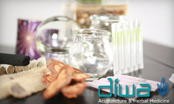 Diwa Acupuncture & Herbal Medicine - Downtown: $35 for a Personalized Consultation and Acupuncture Treatment at Diwa Acupuncture & Herbal Medicine ($125 Value)