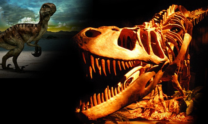 Dinosaur Quest - Downtown: $11 for Museum Outing for Two at Dinosaur Quest (Up to $24 Value)