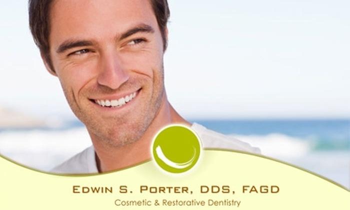 Edwin S. Porter, DDS, FAGD - Wessex Square: $65 Exam, Cleaning, and X-Rays from Edwin S. Porter, DDS, FAGD ($350 Value)