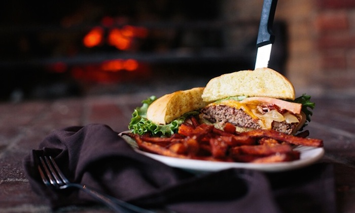The Tipsy Toboggan - Fall River: Rustic Pub Fare for Lunch or Dinner at The Tipsy Toboggan (Up to 50% Off). Three Options Available.