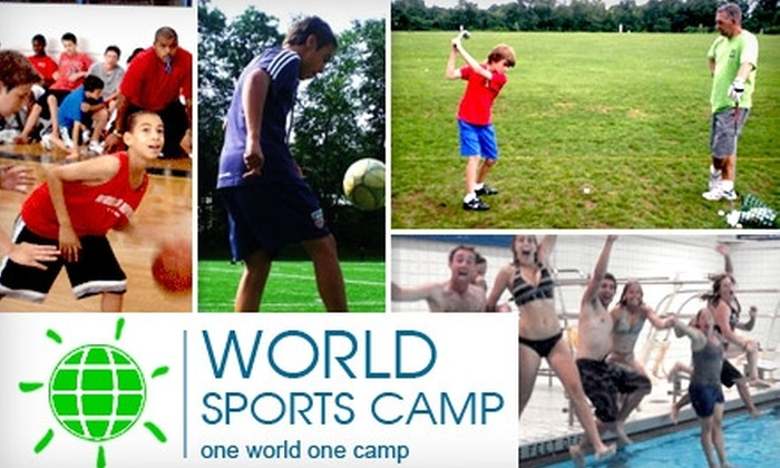 World Sports Camp - Easthampton: $600 for a One-Week Residential Stay at World Sports Camp