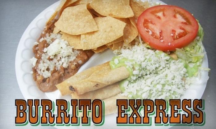 Burrito Express - Los Angeles: $5 for $10 Worth of Burritos and More at Burrito Express in Pasadena