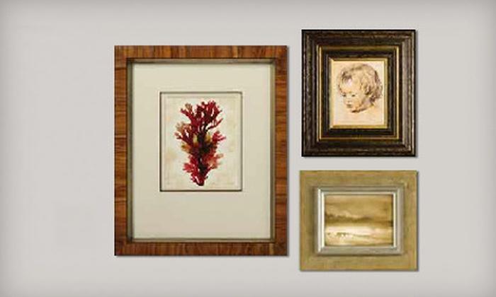 Framing & Art Centre - St. Vital Centre: $45 for $100 Worth of Custom Framing at Framing & Art Centre