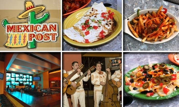 Mexican Post - Multiple Locations: $15 for $30 Worth of South-of-the-Border Cuisine and Drinks at Mexican Post
