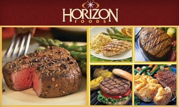 Horizon Foods: $35 for $70 Worth of Portion-Controlled Entrees, Plus One Added-Value Item with Home Delivery from Horizon Foods
