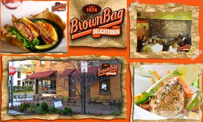 Brown Bag Deli - German Village: $5 for $10 Worth of Sandwiches, Soups, Salads, and More at The Brown Bag Deli