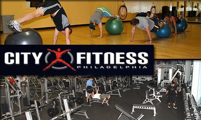 City Fitness  - Northern Liberties/ Fishtown: $20 for 1-Month Unlimited Access to City Fitness ($45 Value)