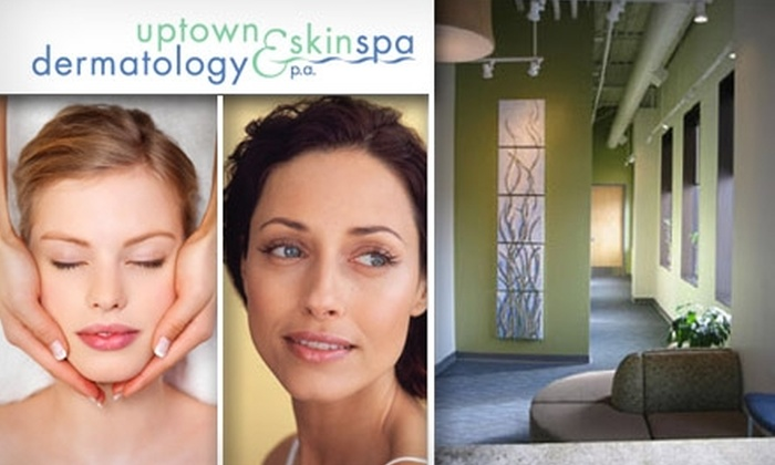 Uptown Dermatology & SkinSpa - Uptown: $40 for $100 Worth of Skincare Services at Uptown Dermatology & SkinSpa