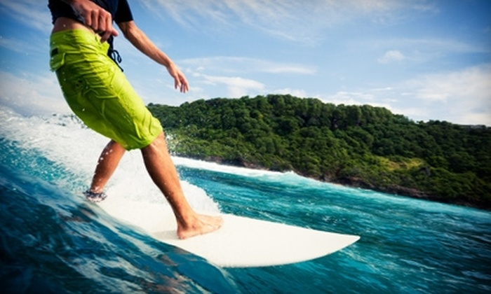 Kannon Beach - Lawrencetown: $7 for a Full-Day Surfboard Rental at Kannon Beach in East Lawrencetown ($15 Value)