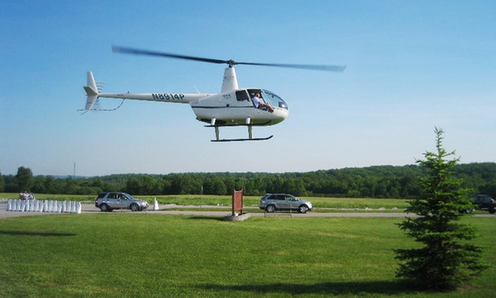 H&L Enterprises of WNY LLC - Chautauqua: $599 for One Hour of Flight Time in a Helicopter from H&L Enterprises of WNY LLC ($840 Value)