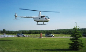 H&L Enterprises of WNY LLC: $570 for One Hour of Flight Time in a Helicopter from H&L Enterprises of WNY LLC ($840 Value)