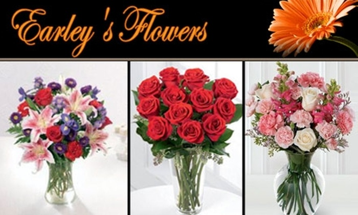 Earley's Flowers  - Alhambra: $30 for 12 Roses or 6 Roses and Lilies from Earley's Flowers