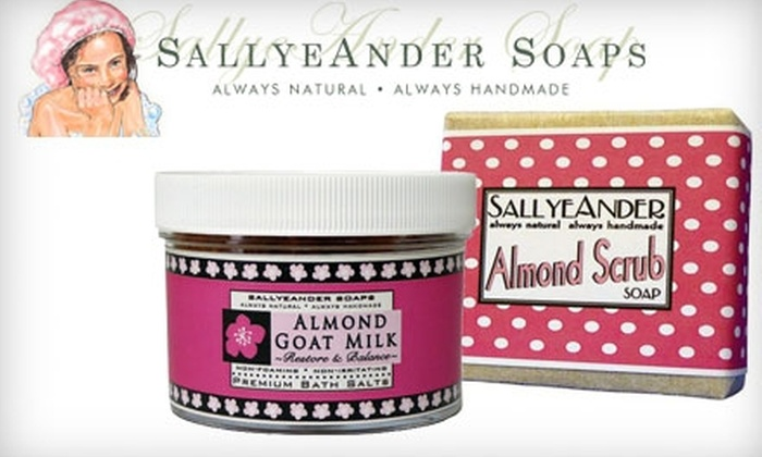 SallyeAnder Soaps - Minetto: $12 for $25 Worth of Handmade Soaps and Natural Products at SallyeAnder Soaps