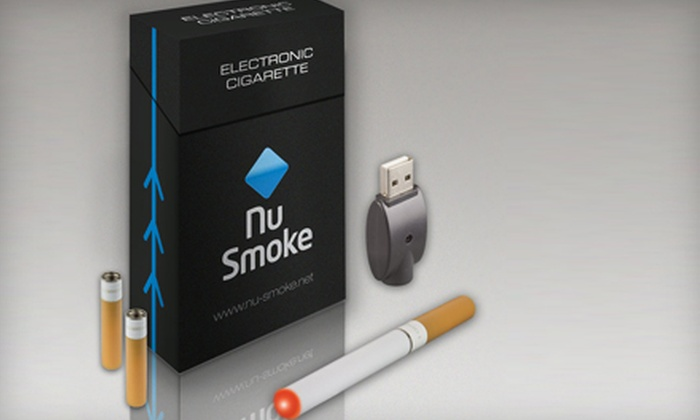 Nu-Smoke: $34 for an Electric Cigarette Premium Starter Kit, Including Shipping, from Nu-Smoke ($69.95 Value)