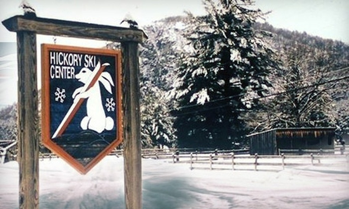 Hickory Ski Center - Warrensburg: $50 for Two One-Day Passes and Two Reusable Lift Cards at Hickory Ski Center (Up to $100 Value)