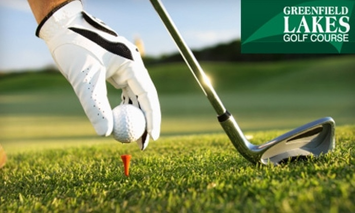 Greenfield Lakes Golf Course - Greenfield Lakes: $10 for 18 Holes of Golf Plus Cart at Greenfield Lakes Golf Course (Up to $38.15 Value)