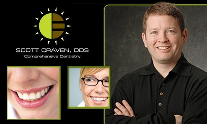 Scott Craven, DDS - Overland Park: $49 for Cleaning, Exam, and X-Rays From Scott Craven, DDS (Up to $294 Value)