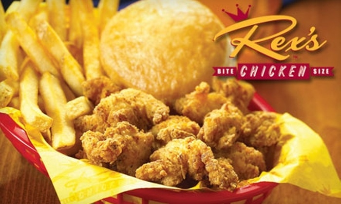 Rex's Chicken - Tulsa: $5 for $10 Worth of Fried Chicken, Frybread, and Other Roadside Fare at Rex's Chicken