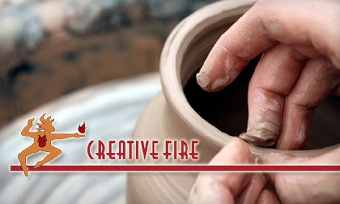 Creative Fire - Wauwatosa: $50 for Three-Session Adult Pottery Class ($100 Value) or $45 for Three-Session Children's Pottery Class ($90 Value) at Creative Fire in Wauwatosa