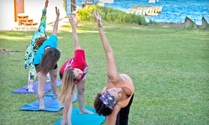 Yoga by the Sea at The Barnacle Society - Northeast Coconut Grove: $26 for Four Outdoor Yoga by the Sea Classes at The Barnacle Society in Coconut Grove ($52 Value)