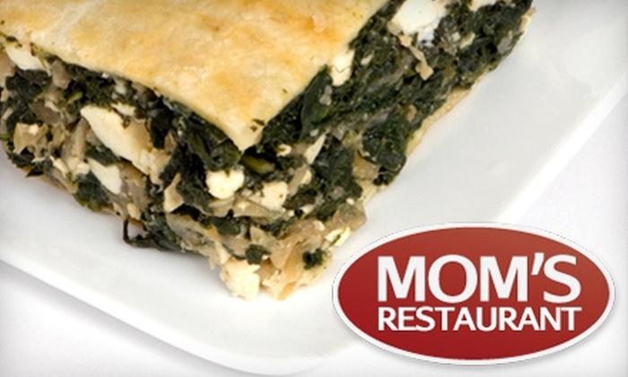 Mom's Restaurant - Trenton: $7 for $15 Worth of Comfort Fare at Mom's Restaurant in Trenton