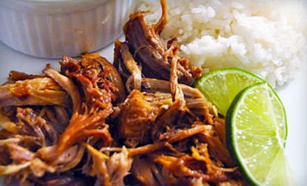 $16 Groupon Worth of Puerto Rican Fare - Adobo Puerto Rican Cafe in Irving