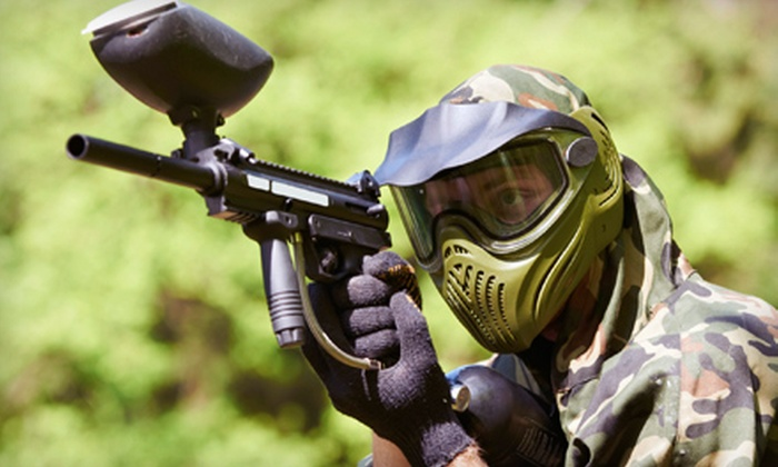 Paintball Plex - Fort Wayne: All-Day Paintball Outing with Equipment and 200 Paintballs for One, Two, or Four at Paintball Plex in Laotto (57% Off)