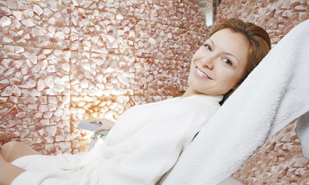 Three or Five Sessions of Salt Therapy for Adults at Axios Salt Spa and Juice Bar (Up to 51% Off)