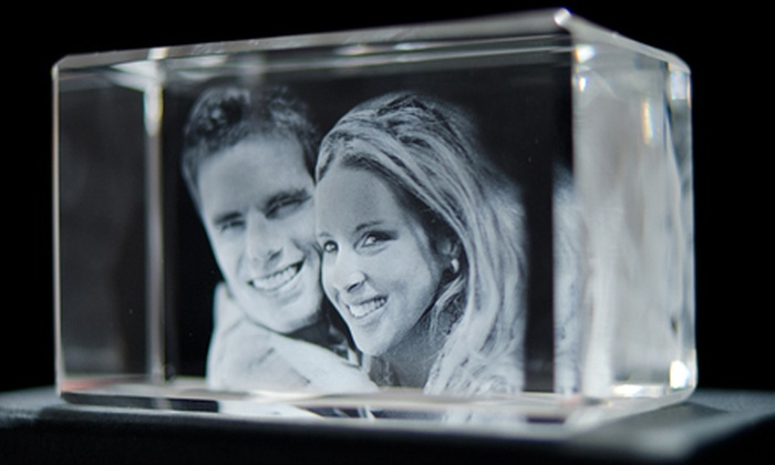 PutMeinCrystal.com: 3-D Crystal Portrait of One or Two Subjects from PutMeinCrystal.com (Up to 62% Off)