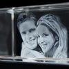 Up to 62% Off 3-D Crystal Portrait
