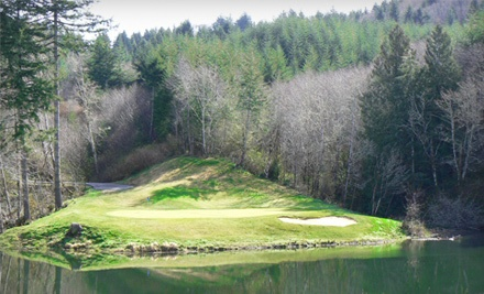 18 Holes of Golf for Two People (up to an $80 value) - Watson Ranch Golf Course in Coos Bay