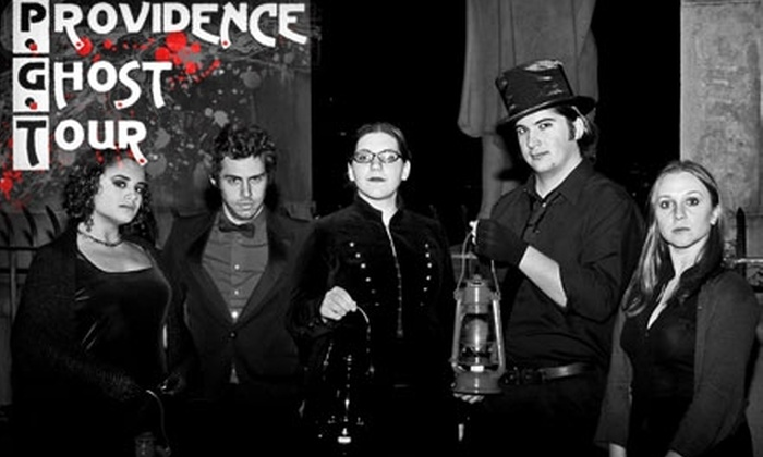 Providence Ghost Tour - Blackstone:  $7 for a Walking Ghost Tour at Providence Ghost Tour (Up to $15 Value). Choose from Multiple Dates.