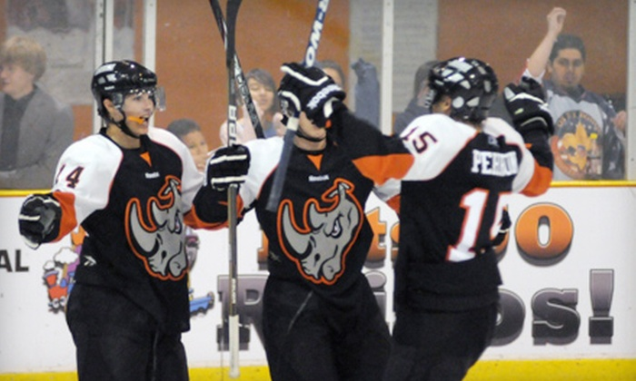 El Paso Rhinos - Events Center: Two, Four, or Six Tickets to an El Paso Rhinos Game at the El Paso Events Center