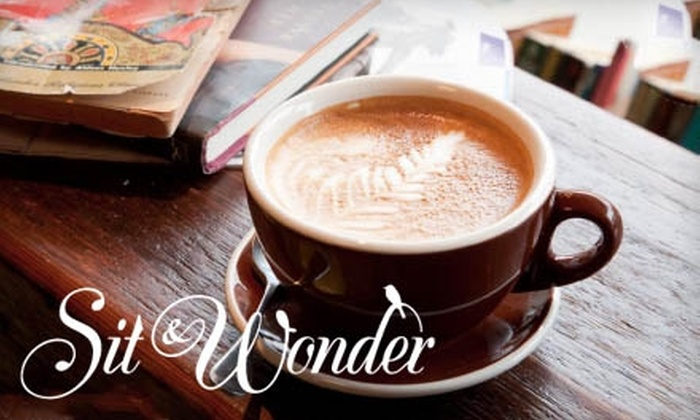 Sit & Wonder - Prospect Heights: $15 for a 10-Punch Card for Drinks and Pastries at Sit & Wonder (Up to $32.50 Value)