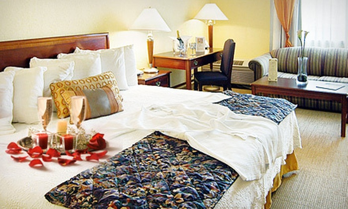 Sundance Plaza Hotel and Spa - Winston: Romance Package for Two with Spa Services and Optional One-Night Stay at Sundance Plaza Hotel and Spa in Winston-Salem