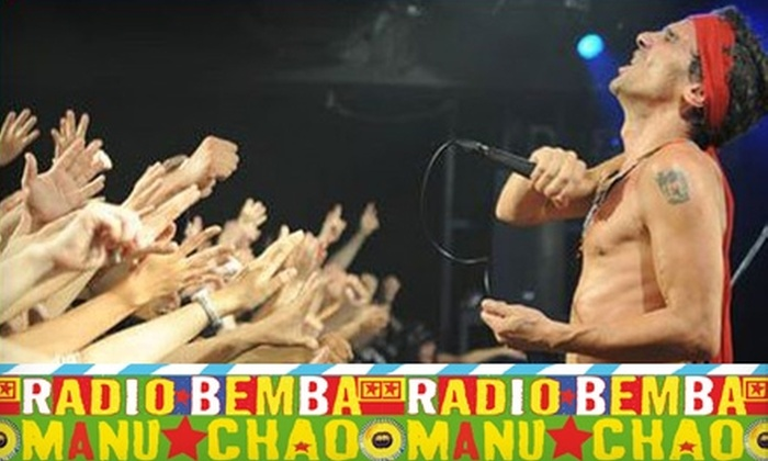 Nacional Records - North Hollywood: $13 for Manu Chao Studio Album and Live Two-CD and DVD Set from Nacional Records ($25.98 Value)