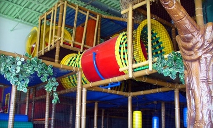 Rockin' Robin's Amazone Family Entertainment Center - Medina: $30 for a Super Jungle Bundle Play Package at Rockin' Robin's Amazone Family Entertainment Center ($60 Value)